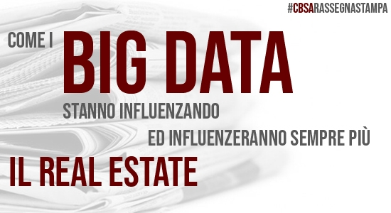 Big Data e Real Estate